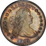 1795 Draped Bust Silver Dollar. Bowers Borckardt-52, Bolender-15. Rarity-2. Centered Bust. Mint Stat