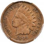 1909-S Indian Cent. VG-8 (PCGS).