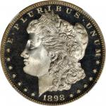 1898 Morgan Silver Dollar. Proof-67 Ultra Cameo (NGC).