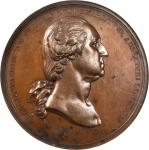 1776 Washington Before Boston Medal. Bronzed Copper. 68.6 mm. Paris Mint Restrike. Musante GW-09-P3,