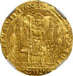 FRANCE. Ecu dOr, ND (1337). Philip VI. NGC MS-63.