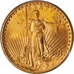 1911-D Saint-Gaudens Double Eagle. MS-66 (PCGS).
