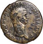 CLAUDIUS, A.D. 41-54. AE Sestertius (29.89 gms), Rome Mint, ca, A.D. 42.
