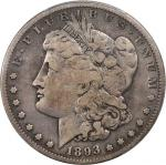 1893-S Morgan Silver Dollar. VG Details--Cleaning (PCGS).