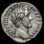 Roman Empire ローマ帝国 AR Denarius Antoninus Pius アントニヌス・ピウス  (AD138~161) 返品不可 要下见 Sold as is No returns