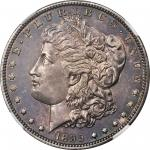1895 Morgan Silver Dollar. Proof-64 (NGC).