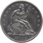 1856-S Liberty Seated Half Dollar. PCGS AU55