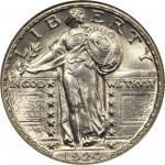 1920-D Standing Liberty Quarter. MS-67 FH (NGC).