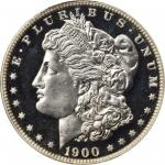 1900 Morgan Silver Dollar. Proof-67 Cameo (PCGS). CAC.