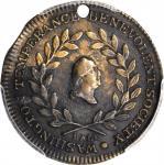 Undated (ca. 1841) Tyrant Alcohol Medal. Second Dies. Copper. 21 mm. Musante GW-163, Baker-332A, var