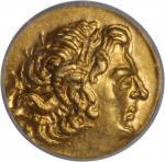 PONTUS. Kingdom of Pontus. Mithradates VI, 120-63 B.C. AV Stater, Callatis Mint, ca. 88-86 B.C. ICG