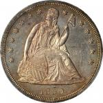 1850 Liberty Seated Silver Dollar. MS-62 (PCGS).