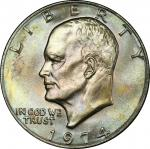 1974 Eisenhower Dollar. MS-66+ (PCGS). CAC.