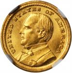 1903 Louisiana Purchase Exposition Gold Dollar. McKinley Portrait. MS-65 (NGC).
