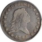 1795 Flowing Hair Half Dollar. O-101, T-28. Rarity-7. Two Leaves. VF-20 (PCGS).