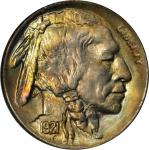 1921 Buffalo Nickel. MS-67 (NGC).