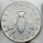 Repubblica Italiana, 2 lire 1958. Mont.07 19.3 mm.  优美