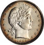 1892 Barber Half Dollar. Proof-67 (NGC). CAC.
