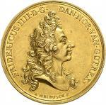 Danemark  Frederic IV, 1699-1730.