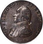 1791 Small Eagle Cent. Musante GW-17, Baker-16, W-10630. Copper. Lettered Edge. AU-58 (PCGS)(OGH).