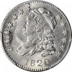 1820 Capped Bust Dime. JR-4. Rarity-4+. Small 0. MS-64 (PCGS).