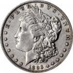 1893-S Morgan Silver Dollar. AU-50 (PCGS).