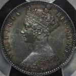 GREAT BRITAIN Victoria ヴィクトリア(1837~1901) Florin 1849 PCGS-AU55 EF