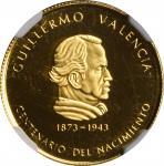 COLOMBIA. 1000 Pesos, 1973. NGC PROOF-66 Ultra Cameo.
