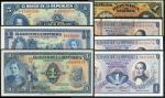 Banco de la Republica, Colombia, 1 Peso Oro (3), 5 Pesos Oro, 1946-1974, also Banco Nacional de Repu