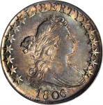 1806年半鹰半美元 PCGS AU 55