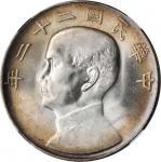 民国二十二年孙中山像一圆银币
