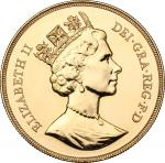 World Coins, Great Britain.  Elizabeth II (1952 -). 5 pounds 1988. Fr. 427. 35 mm.  近未流通