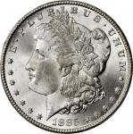 1885-CC Morgan Silver Dollar. MS-66+ (PCGS). CAC.