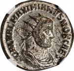 GALERIUS AS CAESAR, A.D. 293-305. BI Antoninianus (4.00 gms), Antioch Mint, 3rd Officina, A.D. 295.