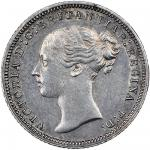 Victoria (1837-1901), proof Groat, 1837, 6h, 1.96g, young head left, rev. Britannia seated right, ed