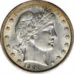 1902 Barber Half Dollar. AU-55 (PCGS).