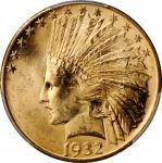 1932 Indian Eagle. Unc Details--Scratch (PCGS).