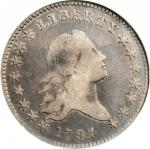 1794 Flowing Hair Half Dollar. O-104, T-11. Rarity-5. VF-20 (NGC). OH.