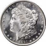1891-S Morgan Silver Dollar. MS-66 (PCGS). CAC.