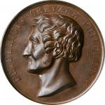 GERMANY. Professor Friedrich Creuzer Bronze Medal, 1844. PCGS SPECIMEN-64 Gold Shield.