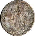 ITALY. Genoa. 8 Lire, 1796. PCGS MS-63 Gold Shield.
