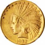 1932 Indian Eagle. MS-63 (NGC).