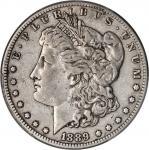 1889-CC Morgan Silver Dollar. VF-35 (PCGS). CAC.