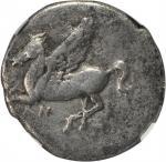 ACARNANIA. Anactorium. AR Stater (7.86 gms), ca. 350-300 B.C.