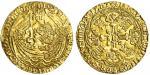 Henry V (1413-22), Noble, type C, 6.93g, mm. -/pierced cross, h/enric?di?gra?rex angl?z franc?dn痴 hy