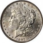 1897-O Morgan Silver Dollar. MS-63 (PCGS).