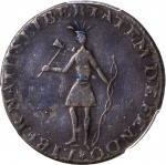 1787年印第安军队 PCGS XF Details 1787 Excelsior Copper