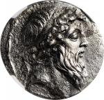 SYRIA. Seleukid Kingdom. Demetrios II Nikator (Second Reign) 129-125 B.C. AR Tetradrachm (15.85 gms)