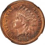 1880 Indian Cent. Proof-62 RB (NGC).