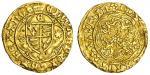 Edward IV 1﨎t reign (1461-70), Quarter-Ryal, class VII, 1.88g, mm. /crown, edward瀦 di?gra?rex?angl,